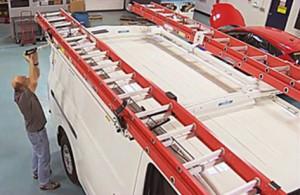 Adrian Steel EZ Load Ladder Rack