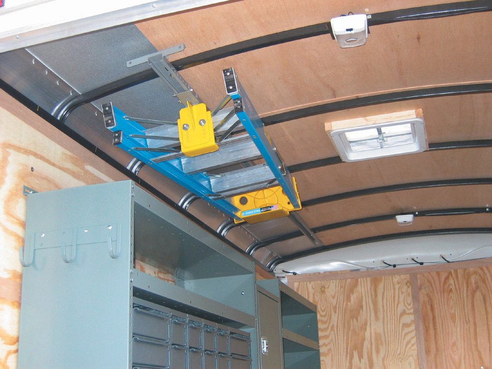 Ladder Roof Rack >> Remodelers: Organize Your Business with a Cargo Trailer