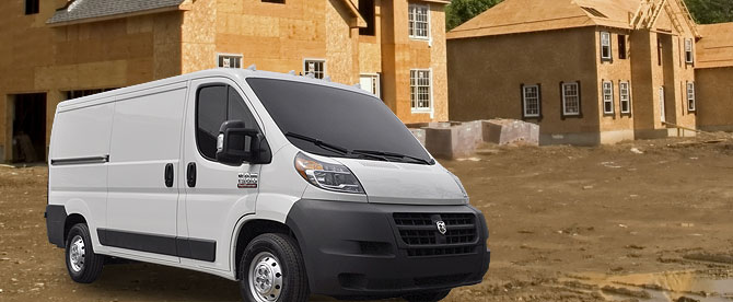 2014 Ram Promaster Van Equipment Adrian Steel