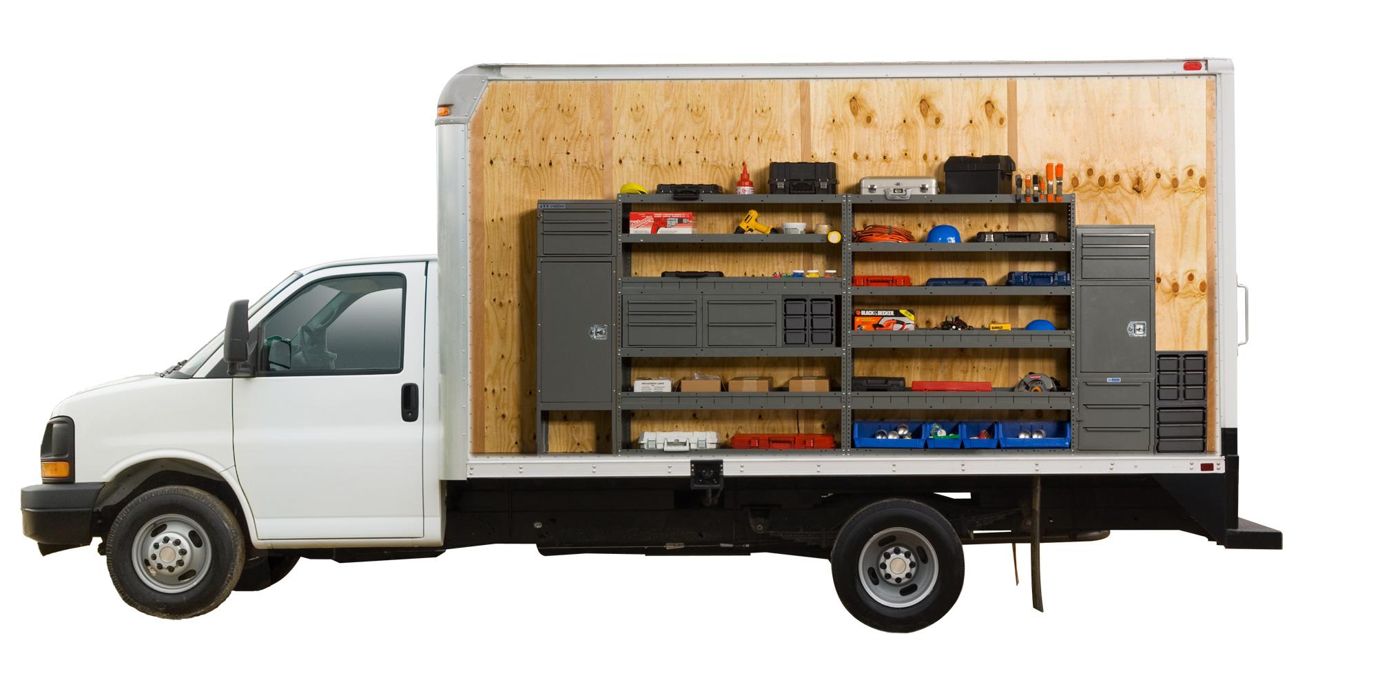 Walk In Van Storage Options Adrian Steel