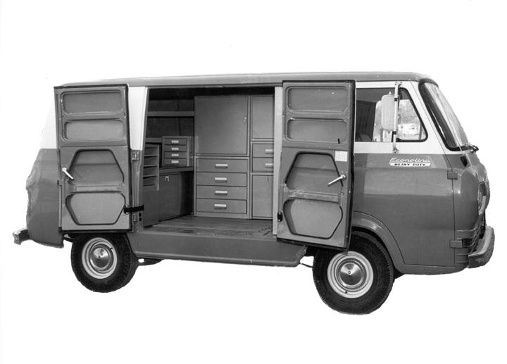 1963 Econoline Outline Adrian Steel