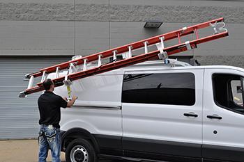 2015 ford transit ladder rack