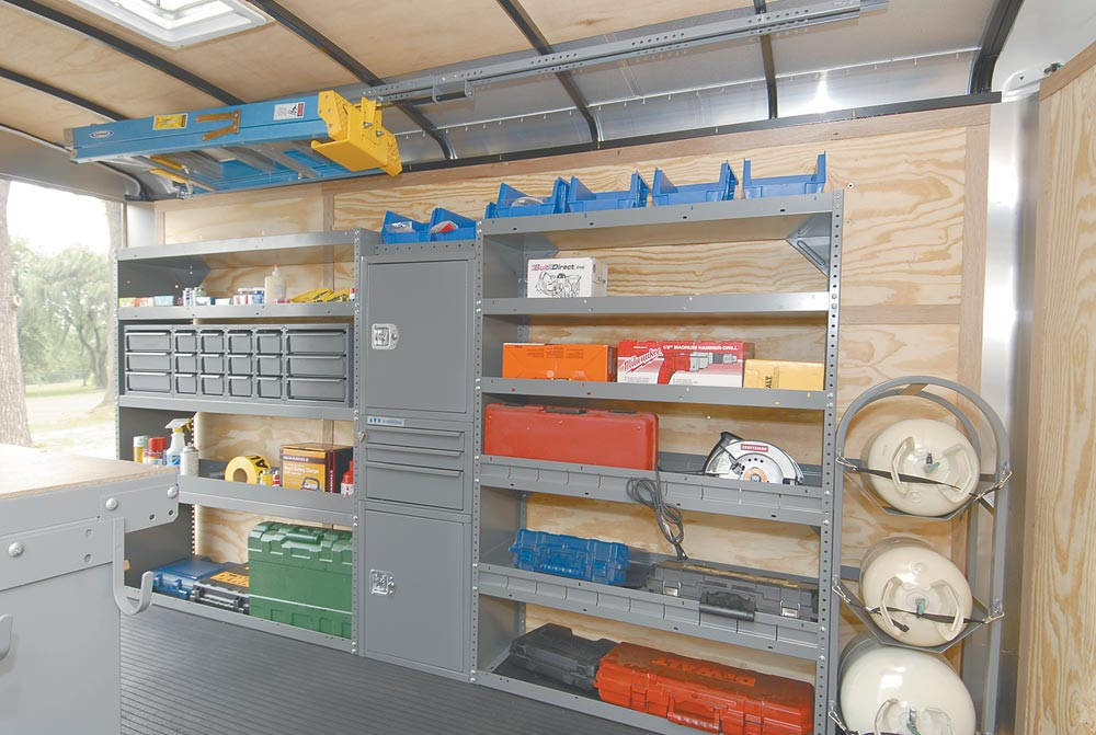 Cargo Trailer Shelving Ideas By Adrian Steel