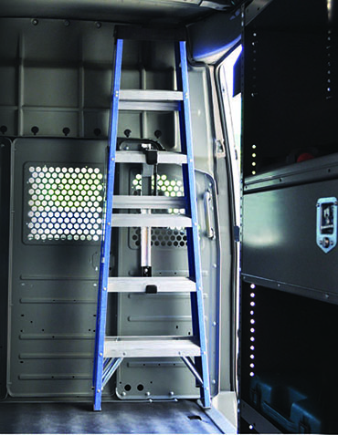 New Interior Ladder Rack Adrian Steel