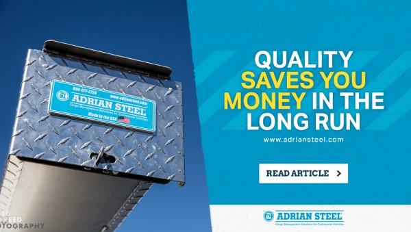 Quality van roof storage last you longer.