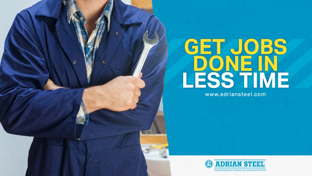 Plumber with a tool in hand;Get Jobs Done in Less Time