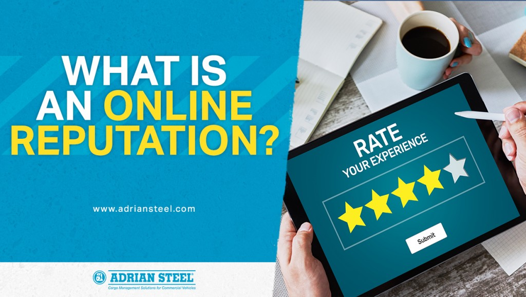 What is an online reputation?