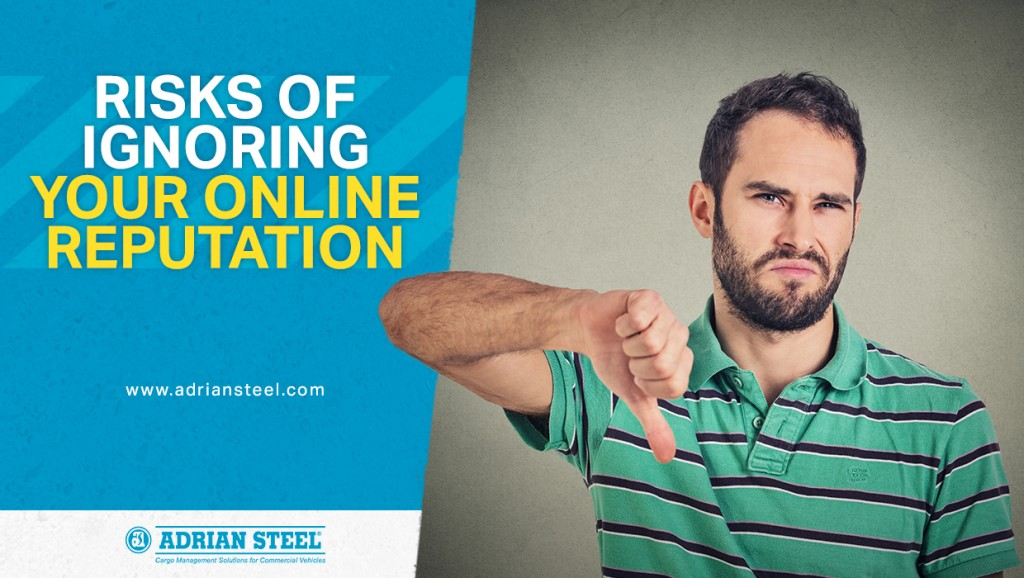 Risks of ignoring your online reputation
