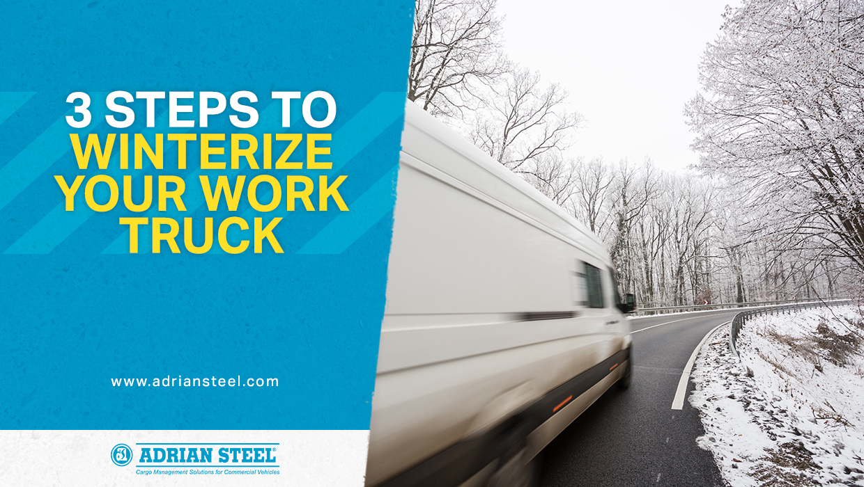 3 Steps to Winterize Your Work Truck
