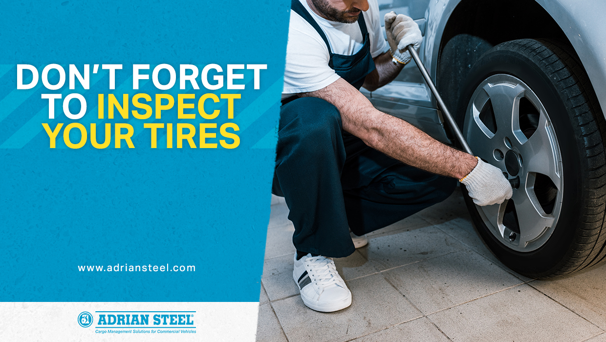 Don't forget to inspect your tires