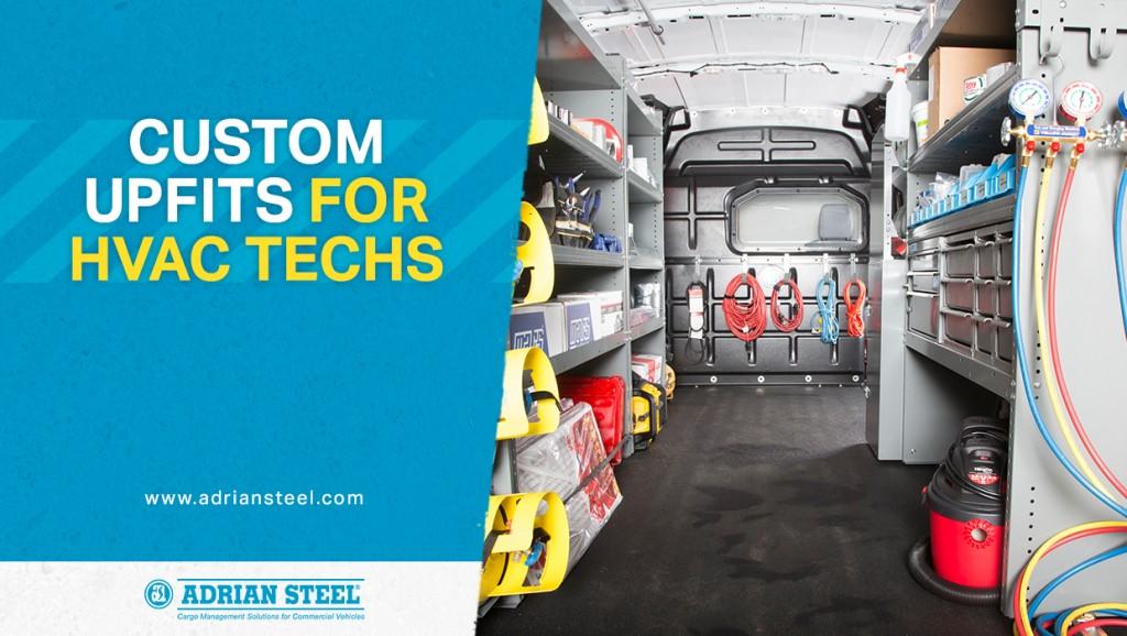 Custom upfits for HVAC techs