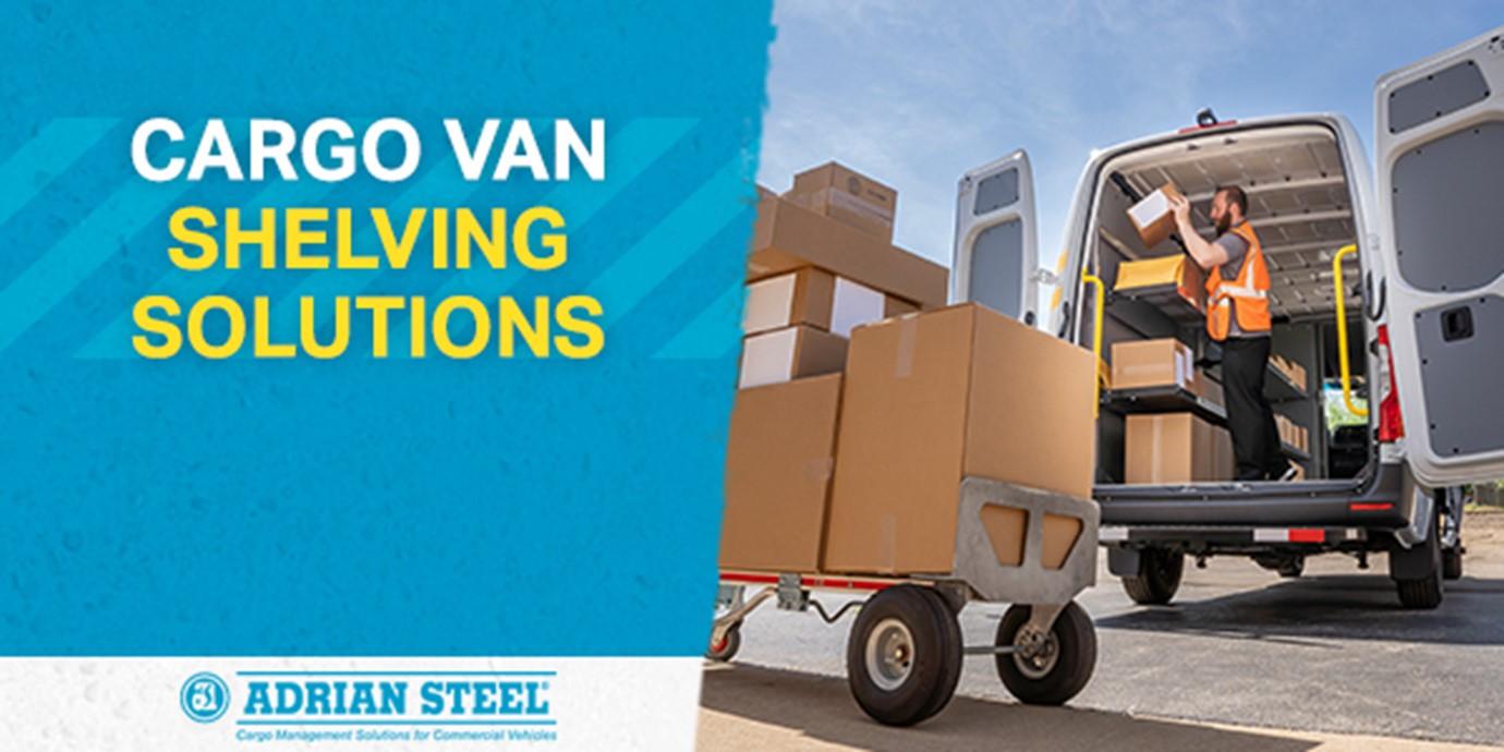 cargo van shelving solutions